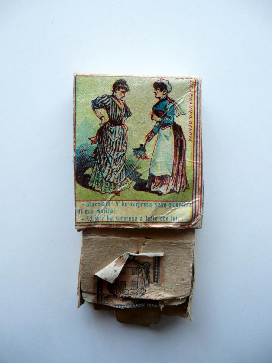 Collezionista Di Scatole Fiammiferi a. dellacha moncalieri scatola di fiammiferi illustrata a colori ottocento